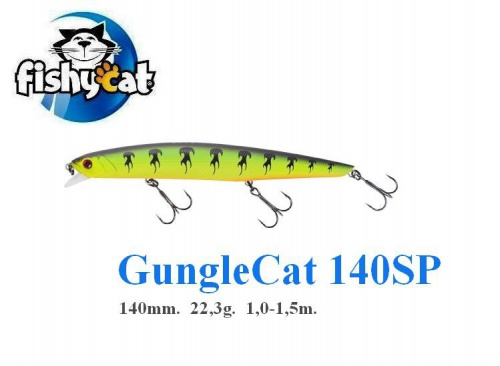 FISHYCAT - JUNGLECAT 140SP