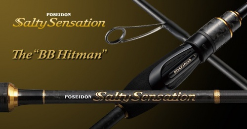 Спиннинг Ever Green Poseidon Salty Sensation PSSS-74S BB Hit Main 2.23 m 0.5-12 g
