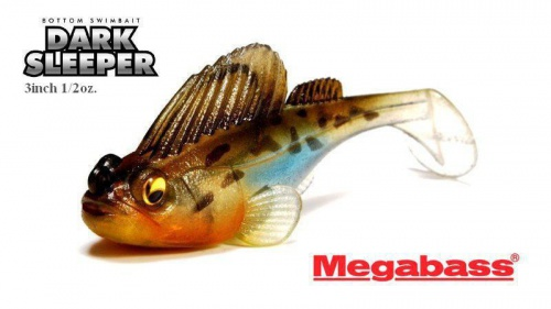 MEGABASS - DARK SLEEPER 3inch (1/2oz.)