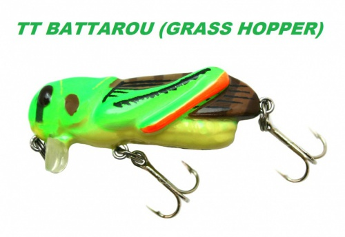 TIEMCO - TT BATTAROU (GRASS HOPPER)