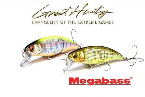 Воблер Megabass Great Hunting 50FS Flat Side