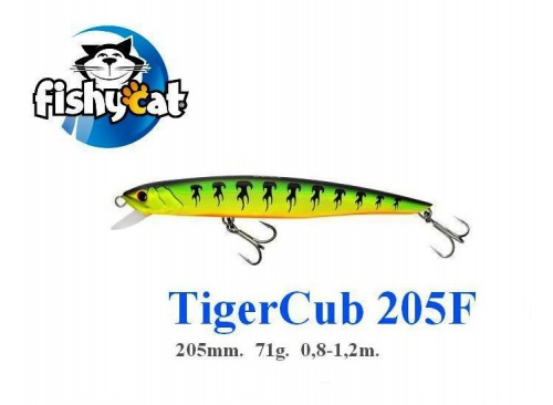 Воблер FishyCat TigerCub 205F