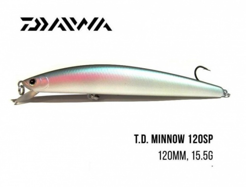 Воблер Daiwa T.D. Minnow 120SP