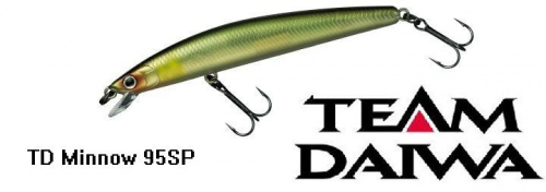 Воблер Daiwa T.D. Minnow 95SP
