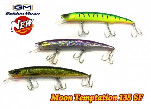 Воблер Golden Mean Moon Temptation 135SF