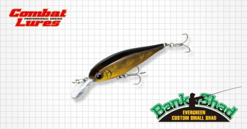 Воблер Ever Green Bank Shad
