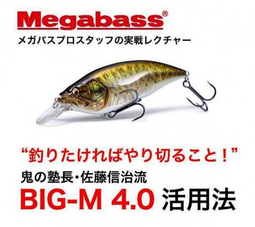 Воблер Megabass Big-M 4.0