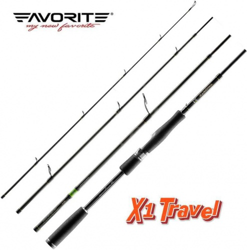 Спиннинг Favorite X1 Travel 704ML 213cm 4-18g Ex.Fast