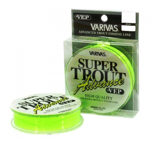 Леска Varivas Super Trout Advance Vep 91m