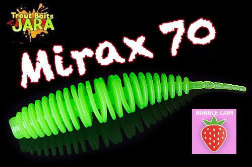 Приманка Trout Baits Jara Mirax 70 Bubble Gum