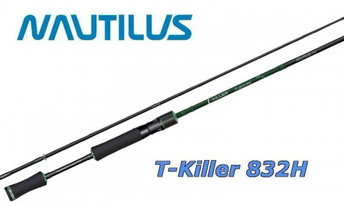 Спиннинг Nautilus T-Killer 251 см. 10.5-42 гр.