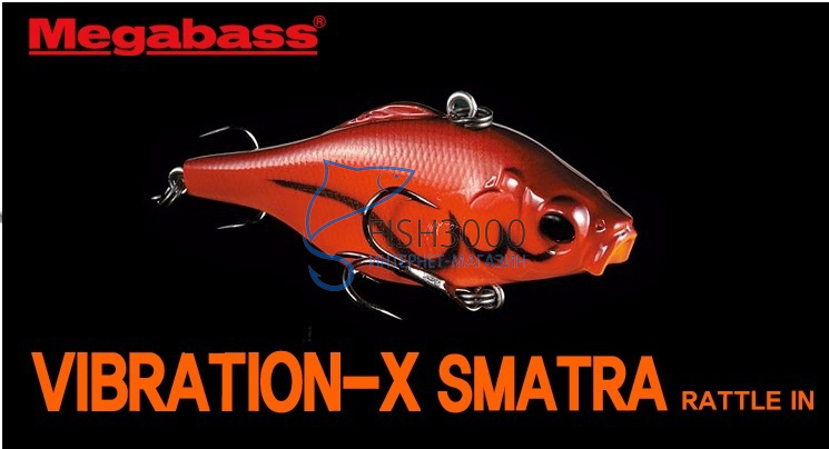 megabass vibration-x rattle купить