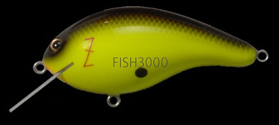 Воблер Megabass Z-Crank Blue Label BLACK BACK CHART