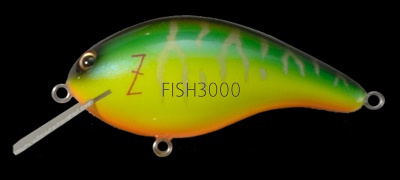 Воблер Megabass Z-Crank Blue Label Hot Tiger
