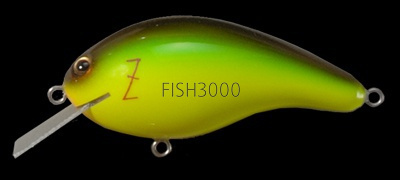 Воблер Megabass Z-Crank Blue Label IL LIME CHART BROWN