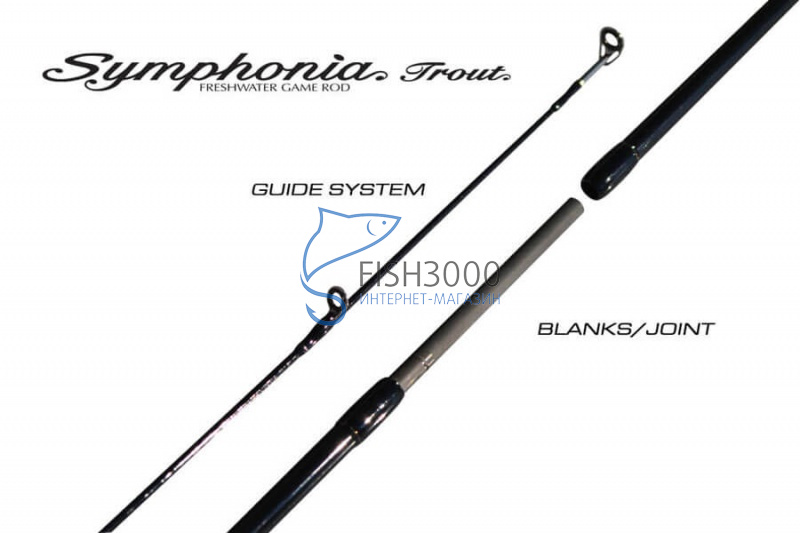 GOLDEN MEAN - SYMPHONIA TROUT SPS-T-72-4 (NEW)