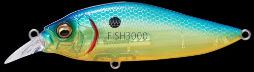 Воблер Megabass Flap Slap LBO SEETHROUGH BLUE BACK CHAR