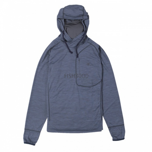 TIEMCO/Foxfire - SC Brisk Touch DS Hoody (NEW) Navy (L)