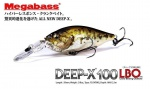 MEGABASS - DEEP-X 100 LBO (NEW)