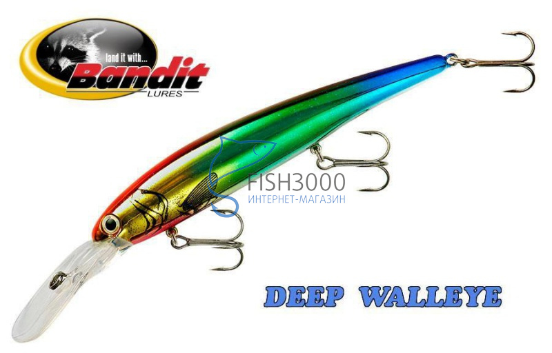 Воблер Bandit Deep Walleye